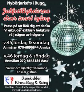 DKKBS nybörjarkurser i bugg v45 och v46 2014